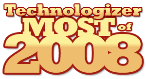 Technologizer's Most of 2008