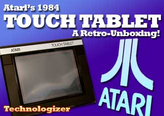 Atari Tablet Unboxing
