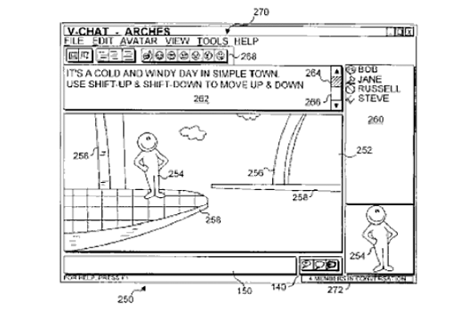 Animated Chat Patent