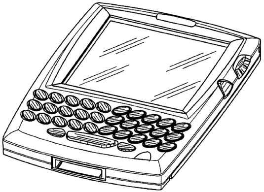 RIM BlackBerry Patent