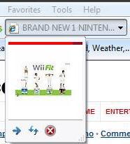 Internet Explorer 8 Web Slice