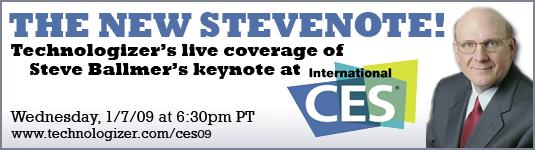 CES 2009 Steve Ballmer Keynote