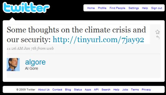 Al Gore on Twitter