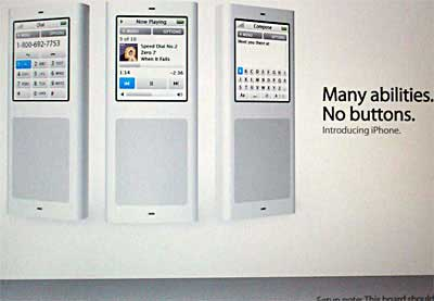 Fake iPhone Ad