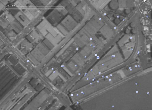 Google Earth San Francisco 1946