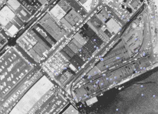 Google Earth San Francisco 1987