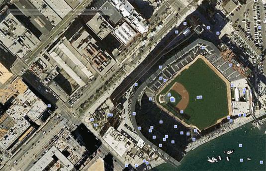 Google Earth San Francisco 2002