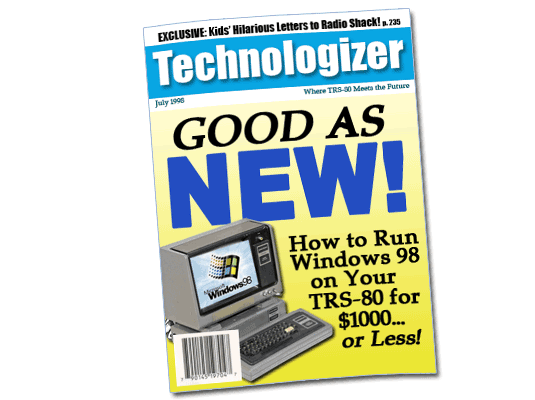 Technologizer 1998 Cover
