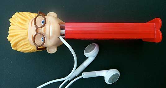 iPod Shuffle Pez