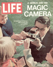 Edwin Land With SX-70
