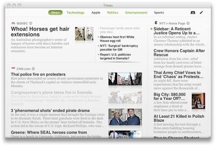 Times Screenshot