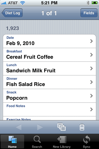 Bento for iPhone