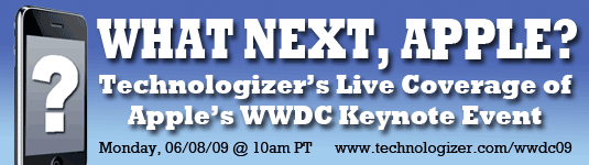 Apple WWDC 2009 Live Coverage
