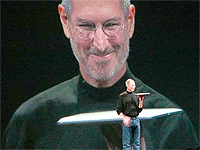 Steve Jobs at Macworld 2008