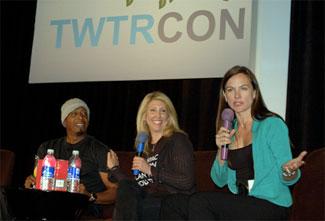 MC Hammer, Adventuregirl, and Gina Smith