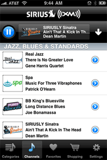 Sirius XM iPhone