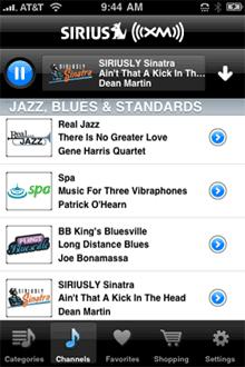 Sirius XM iPhone
