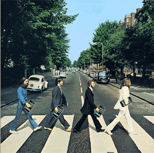 Abbey Road, With iPhones