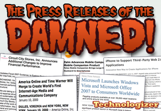 The Press Releases of the Damned