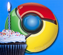 Chrome Birthday