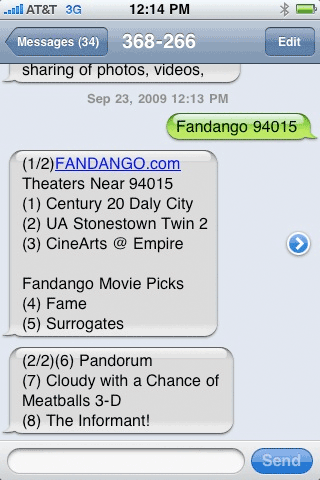 Fandango on Dotgo