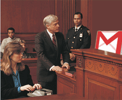 Gmail in court