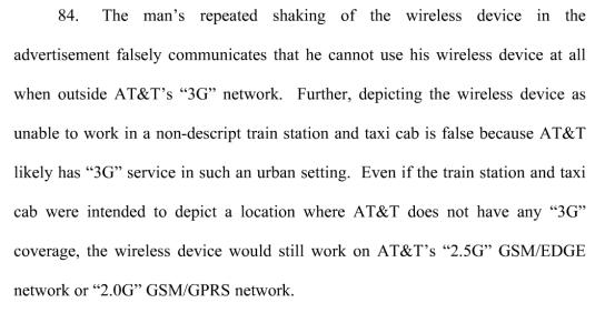 AT&T complaint