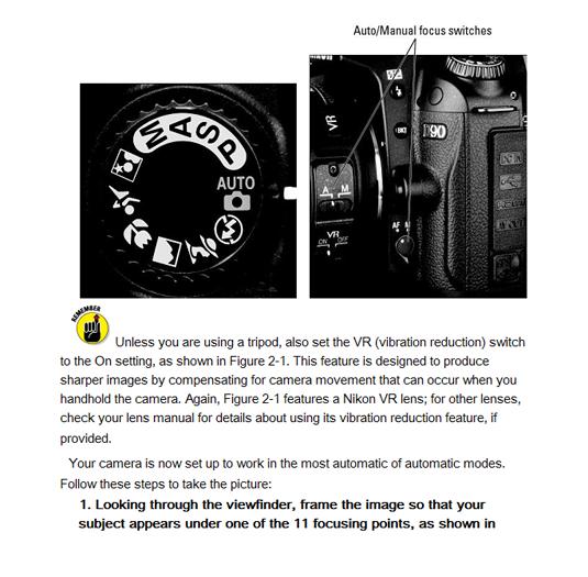 Nikon page on Kindle