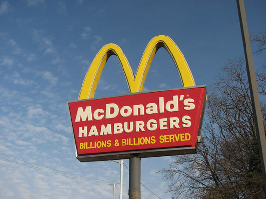 Mcdonalds Bandwagon Ads After a While, ...