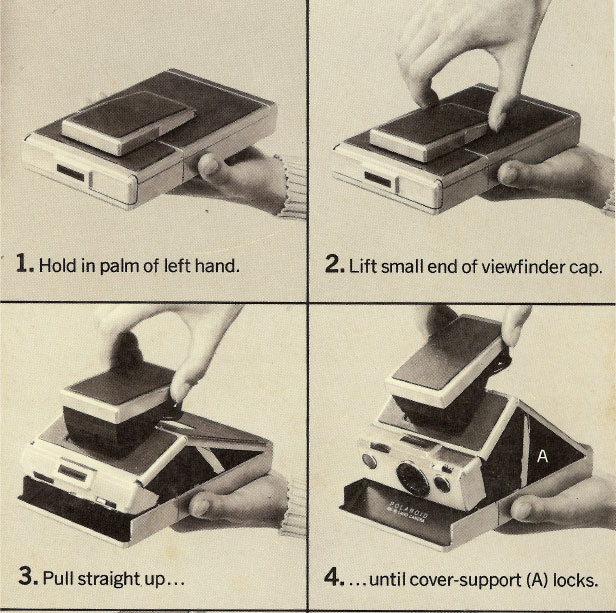 Opening the SX-70