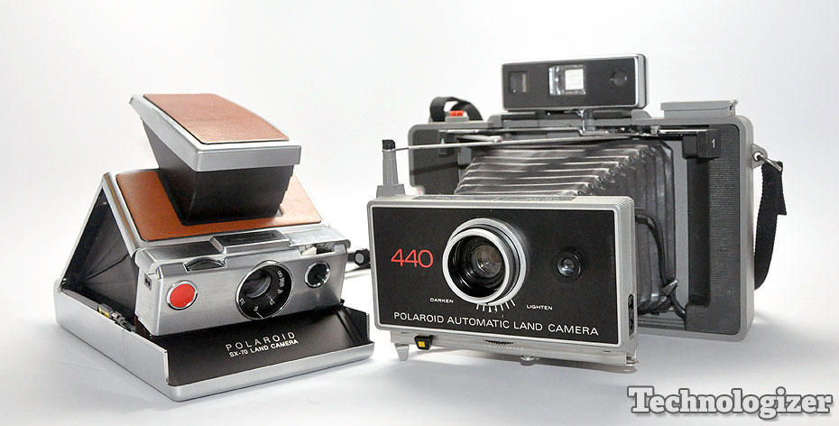 Polaroid SX-70 and Model 440
