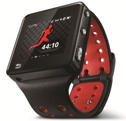 Motorola's TI-powered Motoactv sports watch.
