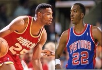 Robert Horry and John Salley