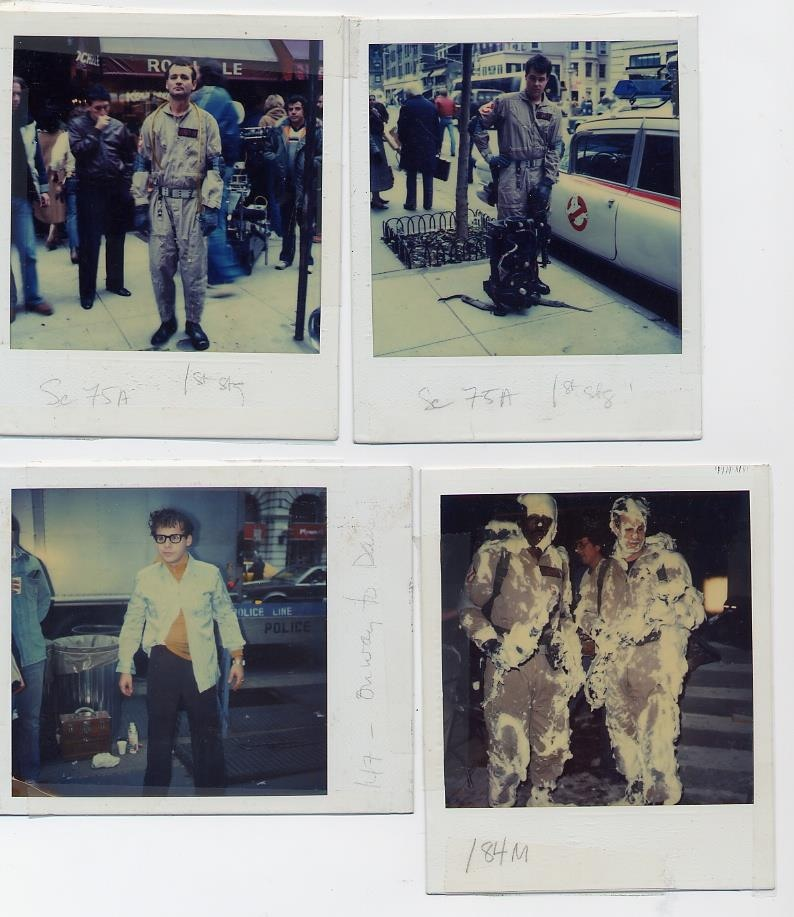 Ghostbusters Polaroids