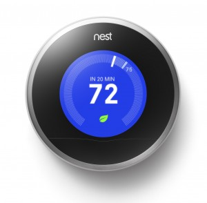 The Nest thermostat