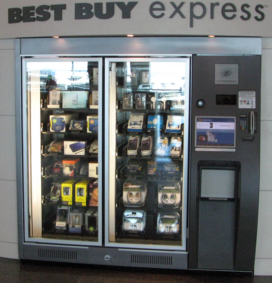 It S A Best Buy Except At An Airport Inside A Machine