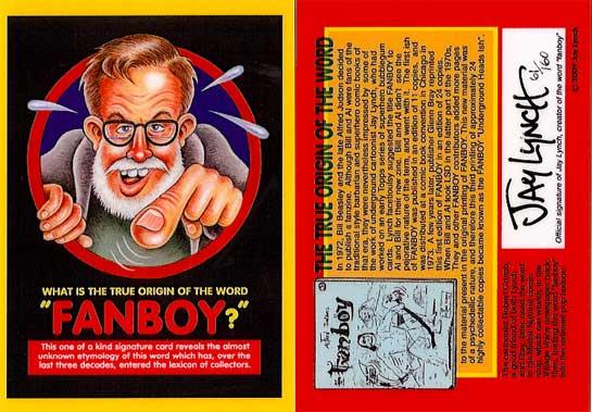 Jay Lynch's Fanboy Card
