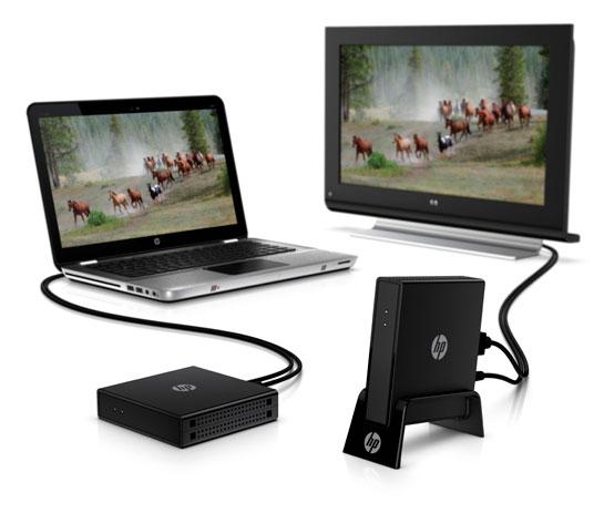 HP wireless HD
