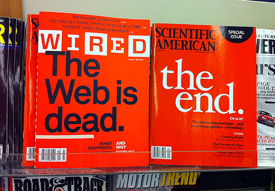 Wired and Scientific American Covers