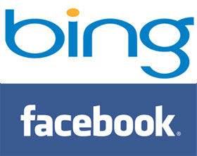 Bing and Facebook