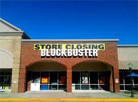 Blockbuster Closes