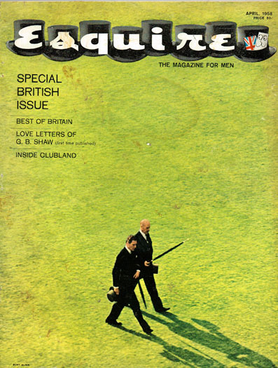 Esquire April 1958 issue