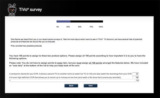 TiVo Survey