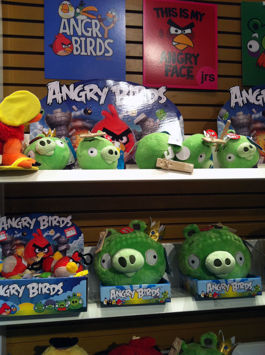 Sam Goody Angry Birds