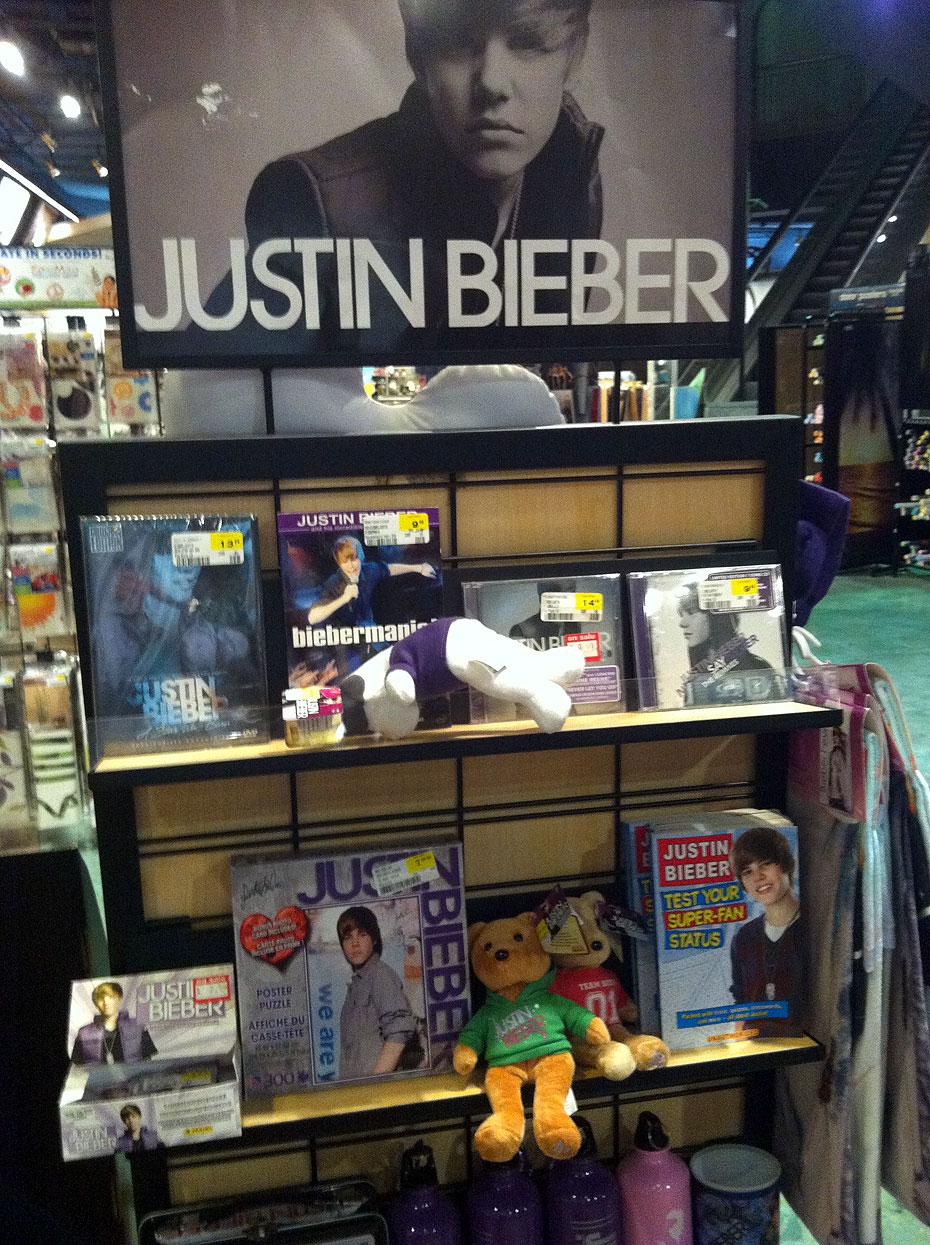 Sam Goody Justin Bieber