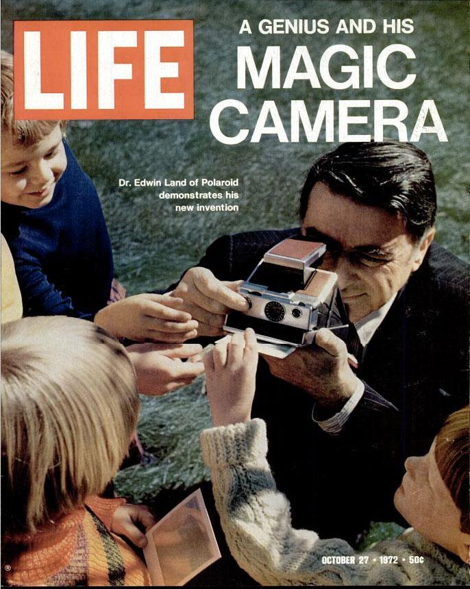 Life Magazine SX-70 camera