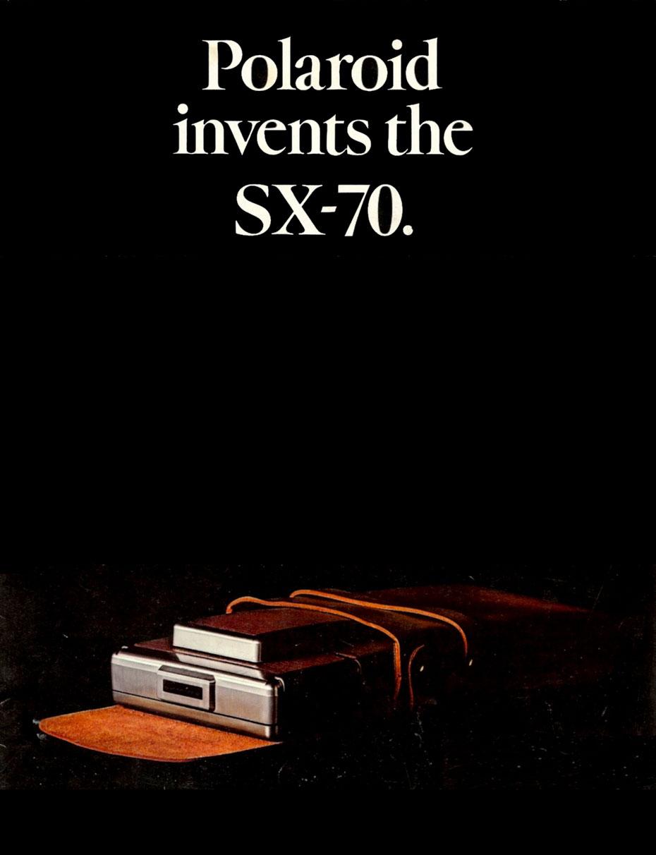 Polaroid Invents the SX-70