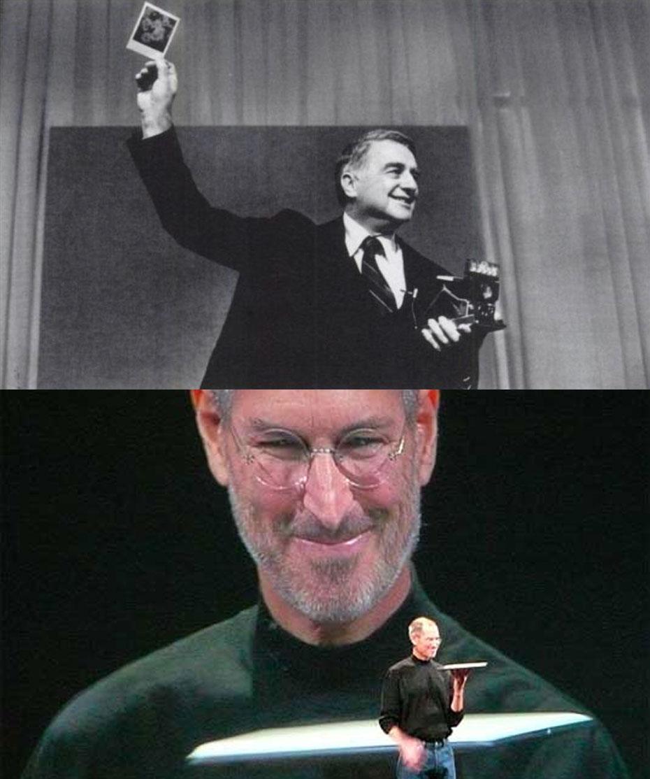 Edwin Land and Steve Jobs