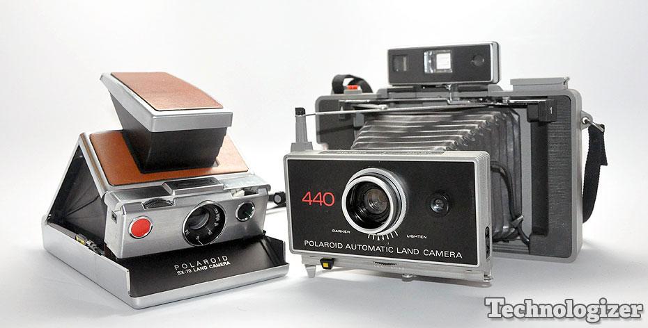 Polaroid SX-70 and Model 440