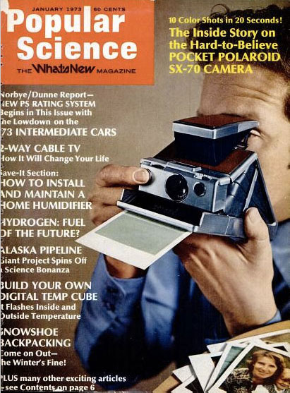 Popular Science SX-70 cover